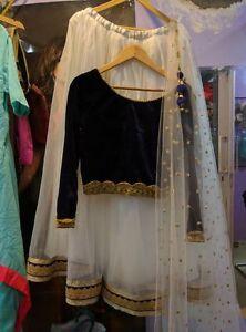 Wedding wear Lehenga Designer Indian Latest Bollywood lengha choli set Size M