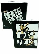 *NEW* Soul Eater: Death the Kid Patty Liz Binder by GE Animation