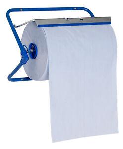 ELOS Wandhalter Metal für Putzrollen Putzpapier Ständer bis 40 cm 960640