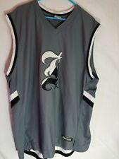 Nike Michael Jordan 23 sleeveless tank top muscle Jumpman air jersey Gray 3Xl