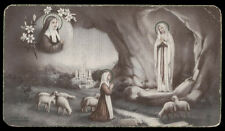 "santino-holy card""""ediz. FB n.75 S.BERNADETTE SOUBIROUS"