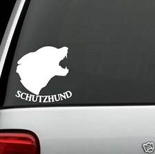 B1106 Schutzhund German Shepherd Dog Decal Sticker Car Truck SUV Van