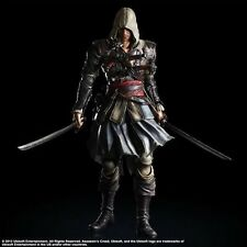 Assassin's Creed IV Black Flag Edward Kenway PVC 3D Action Figures New Toy Doll