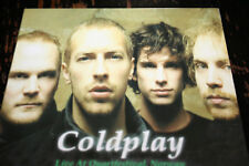 COLDPALY Live at Quartfestival , Norway !!! UNOFFICIAL VERY RARE DIGIPACK MUSSS