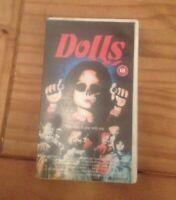 VHS Video - Dolls - Horror