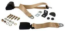 BEETLE Seat Belt, 3pt Inertia, Modern Buckle All Web, Cream - 111857693CCRM