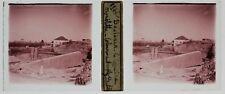 Baalbek Liban Lebanon Photo T4P3 Plaque de verre Stereo 1935