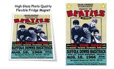 """The Beatles 1966 Suffolk Downs Concert Poster 3""""X4"""" FRIDGE MAGNET"""
