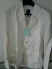 Giacca bianca in lino fay 12 anni veste xs