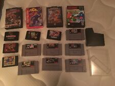 Sega Genesis Snes Video GAme Lot 12 Wild Guns