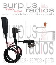 Pryme Spm2303 Surveillance Headset Motorola Cp200 Cp200D Cp185 Bpr40 Pr400 Ct250