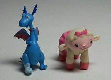 DISNEY DOC MCSTUFFINS SMALL PVC FIGURES - LAMBIE &  STUFFY DRAGON - CAKE TOPPERS