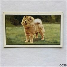Gallaher Dogs #9 Chow Chow 1936 Cigarette Card (CC38)