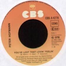 """[BARRY MANN] PETER HOFMANN~YOU'VE LOST THAT LOVIN' FEELIN'~1984 GERMAN 7"""" SINGLE"""
