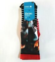 Stance NBA Fusion Basketball Allen Iverson Practice Casual Crew Men's Socks L