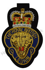 Royal British Legion Blazer Badge, Army, Military, Embroidered, RBL Forces Day