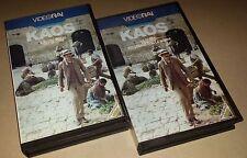 """FRANCO FRANCHI  CICCIO INGRASSIA  -RARE 2 VHS """" KAOS """""""