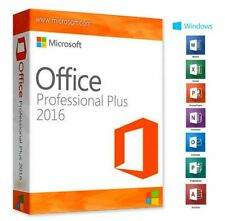 Office 2016 Pro Professional Plus 32/64bit Lifetime Licence Key Product Code