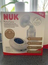 NUK Nature Sense Electric Breast Pump with Day/Night LCD Screen, Memory Funct...