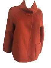 Gorgeous Burnt Orange Angora Jacket by St. John sz P