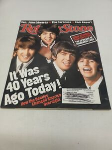 Rolling Stone Magazine: Issue 942. Feb 19, 2004 The Beatles Rock And Rock