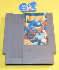 PUNCH-OUT!! Nintendo NES Game Cartridge: Cleaned/ Tested