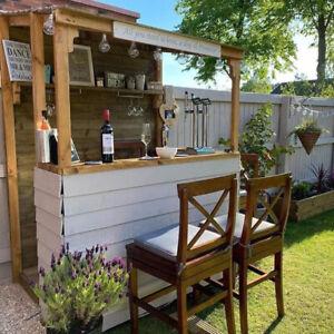 Fresh Wood Garden Bar