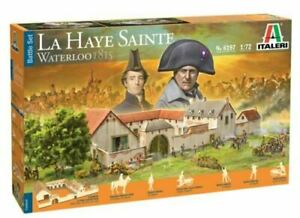 ITALERI La Haye Sainte Waterloo 1815 - BATTLESET #6187 New Sealed Box