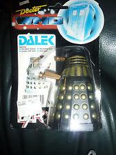 DR WHO Dalek dapol Black gold  FIGURE BBC 1987 carded original version