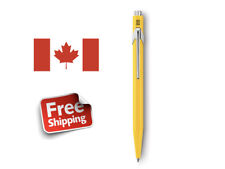 Caran D'Ache Ballpoint Pen Metal Yellow 849.010 New Swiss Made