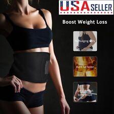 Waist Trimmer Belt Sweat Band Wrap Stomach Weight Loss Fat Burner Slimming NEW
