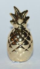 NEW BATH & BODY WORKS GOLD SWEET CHIC PINEAPPLE MAGNET LARGE 3 WICK CANDLE DECOR