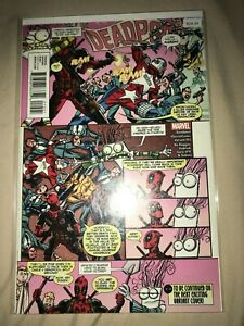 Deadpool Variant 015 High Grade Comic Book - B24-24
