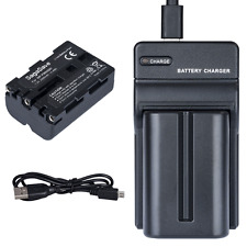 NP-FM500H 2000mAh Battery+USB Charger for Sony A900 A700 A350 A200 A550 A560