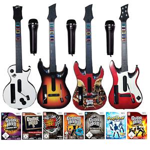 Nintendo Wii Guitar Spiele, Gitarre  Guitar Hero, Greatest Micro Mikro Auswahl