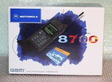 Cellulare MOTOROLA 8700 INTERNATIONAL GSM Vintage Mobile Phone NEW OLD STOCK