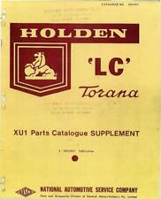 HOLDEN LC LJ XU-1 TORANA Owner Workshop Part Manual Catalogue for service repair