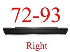 72 93 RIGHT Dodge Slip-On Rocker Panel, 2 Door Ram Truck, NIB, 1580-104