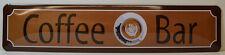 Caffè Bar - Targa di latta - SEGNALE STRADALE 46 x 10 cm (BS540)