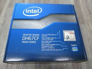 New Intel DH67CF LGA1155 PROCESSOR SUPPORT   SUPPORT CORE 5 SEALED NEW