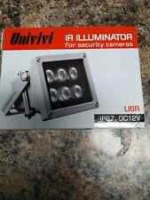 Univivi Infrared Illuminator, 850nm 6 LEDs 60 Degree Wide Angle IR Illuminato...