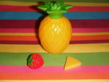 Pineapple Strawberry Mixed Fruit Lot for smoothie fits American Girl Dolls