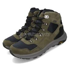 Merrell Ontario 85 Mid Waterproof Olive Green Men Outdoors Shoes Boots J84961