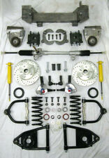 1949 - 1954 Chevy Mustang II Bolt On Manual Front End Suspension Kit IFS Stock