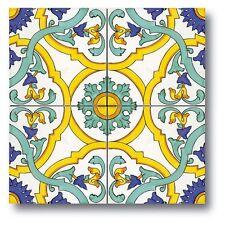Ceramica Vietri Piastrelle 20x20 Decorate A Mano. Consegna in 7 gg Lavorativi.