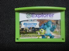 Leapfrog Leapster Explorer Monsters University  Game Leap Pad 2,3,GS,XDi Ultra