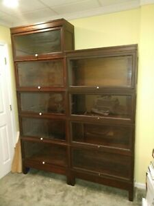 Antique Macy Barrister Bookcases