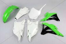 Kit plastique UFO motocross Kawasaki KX 85 2016 - 2018 vert