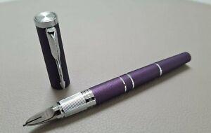 NEW Parker Ingenuity Slim Blue Violet CT 5th Technology Fineliner Pen (WITH BOX)
