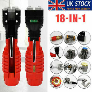 UK 18 IN 1 Multifunction Sink Basin Faucet Wrench Sink Install Tap Spanner Tool